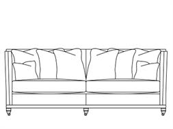 3 Seater Scatter Back Sofa