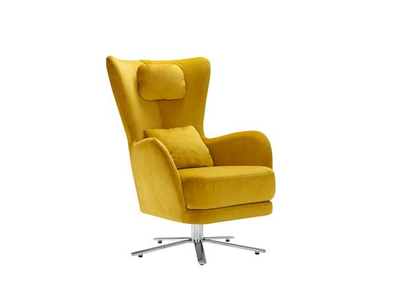 Armchair With Swivel Base