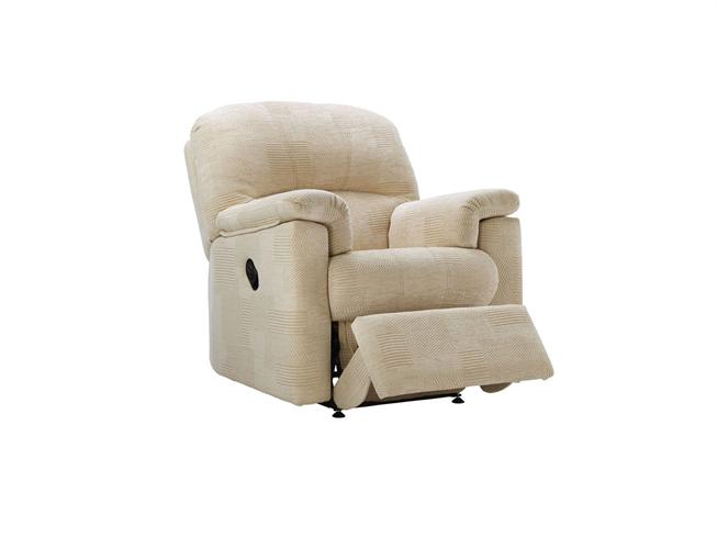 home living room g plan upholstery chloe fabric small recliner chair