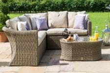 garden sofas and corner groups