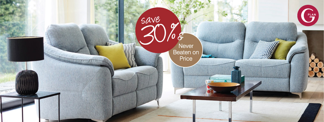 30% Off G Plan Upholstery